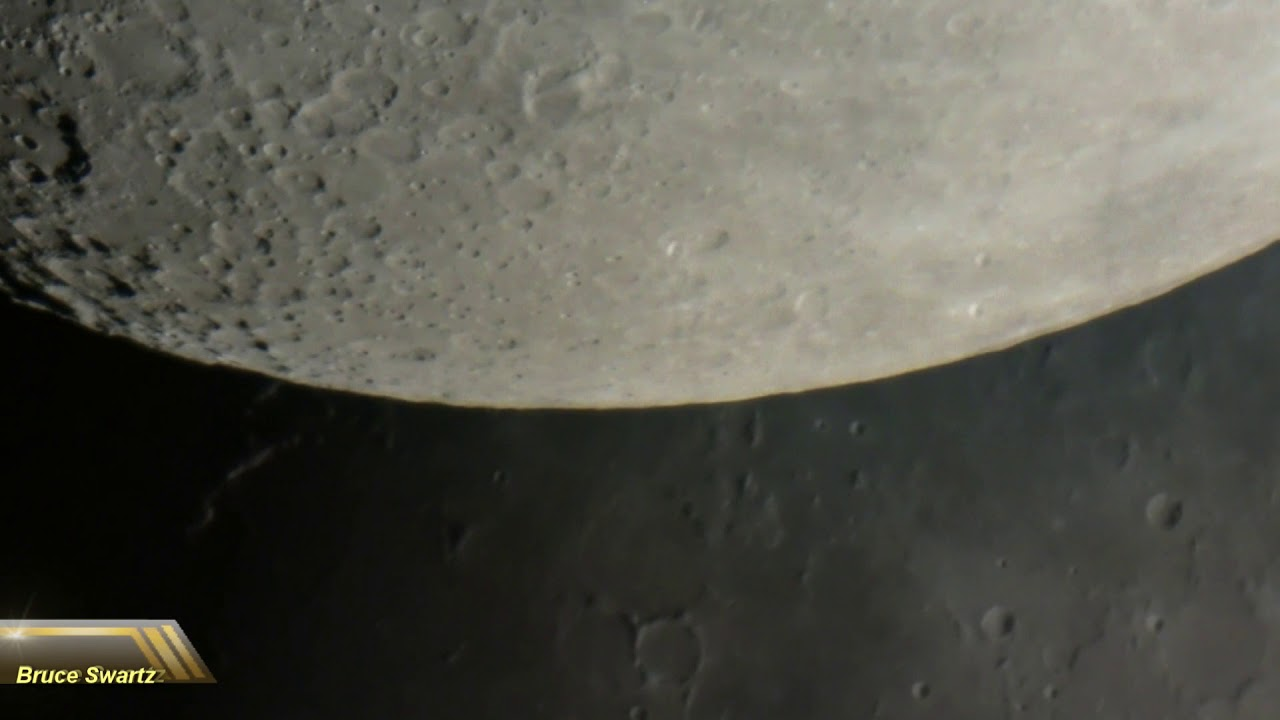 14 inch 1400 HD Telescope Live Moon Footage & More Tests