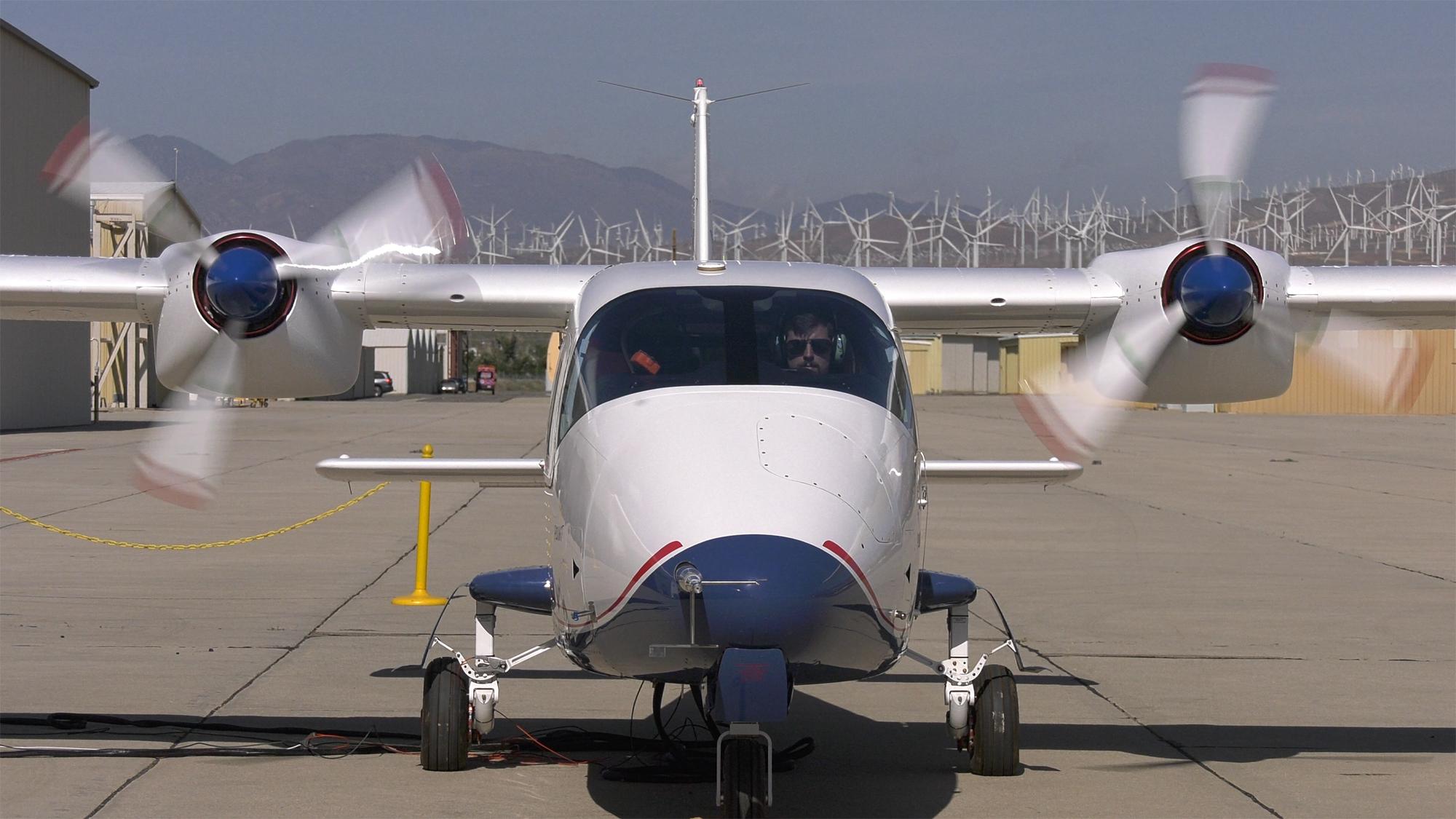 Milestone Achieved as X-57 Mod II Takes Shape
