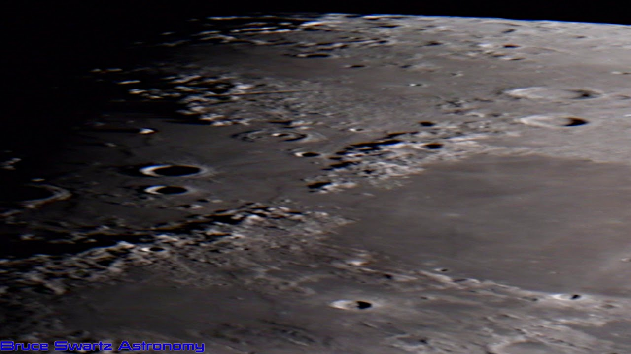 The Natural Surface Colours Of The Moon Mares & Craters