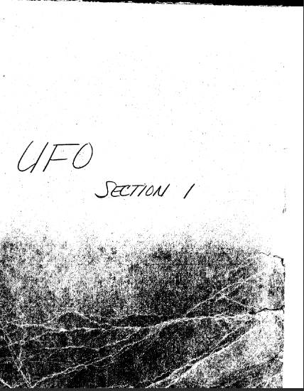 FBI Documents on UFOs