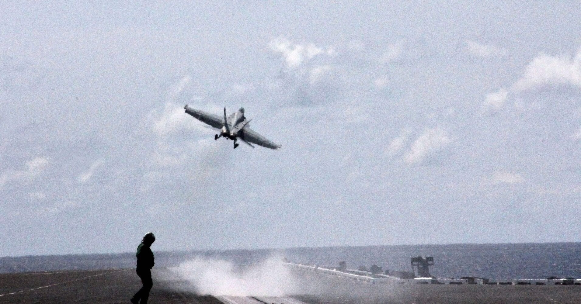 U.S. Navy Pilot Reported 'Near Miss' With UFO Off East Coast