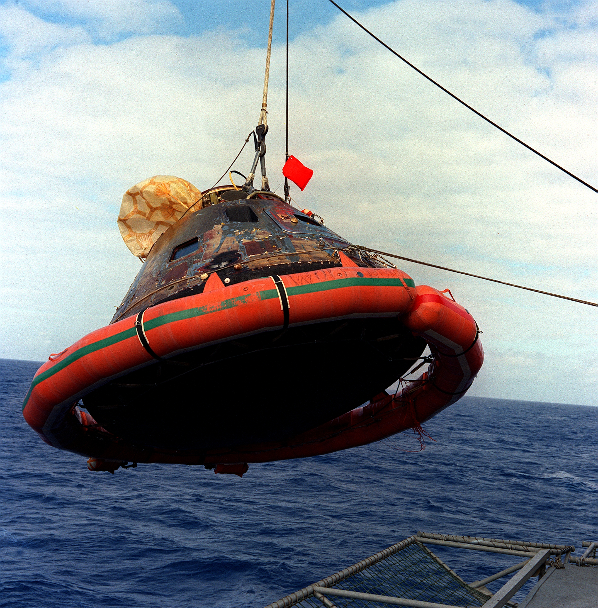 50 Years Ago Today: Apollo 11 Command Module Recovered After Splashdown