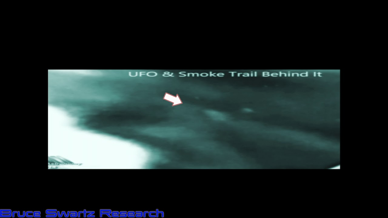 UFO's Mysterious Smoke Trail & Burning Fires On The Lunar Surface