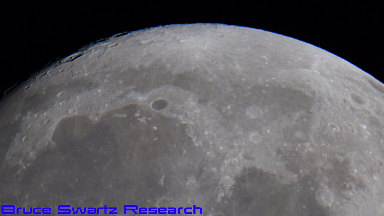 Sirius Star System & The Moon Live August 14th 2019