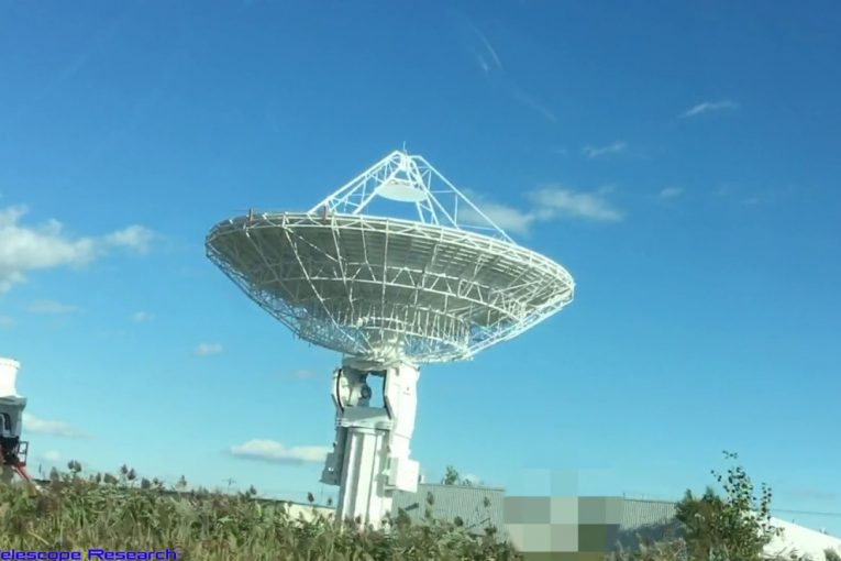 View Of A Radio Telescope & Daytime UFO I Caught Sept 21st 2019