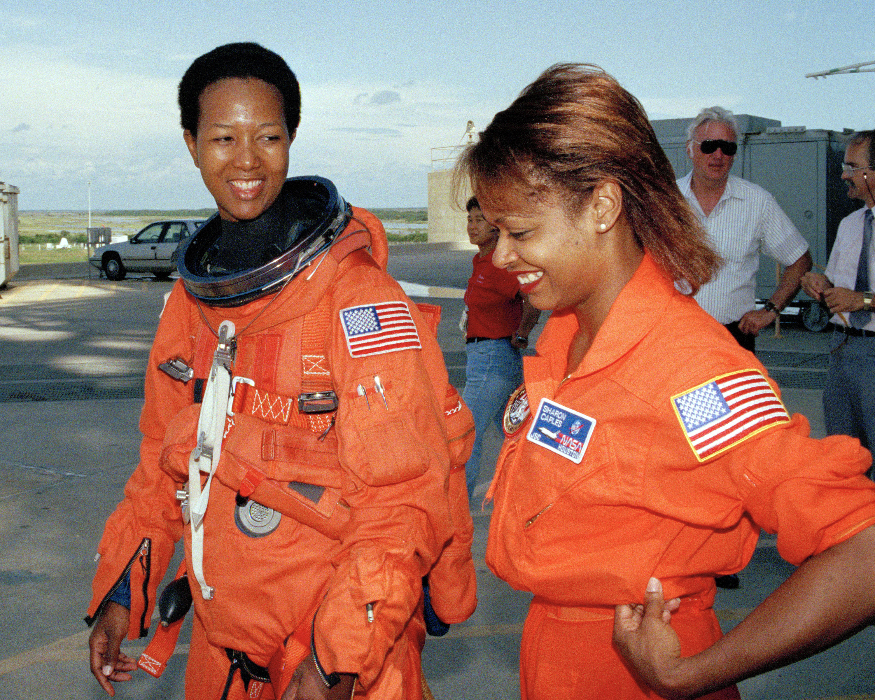 Mae Jemison Trains for Her Space Shuttle Flight
