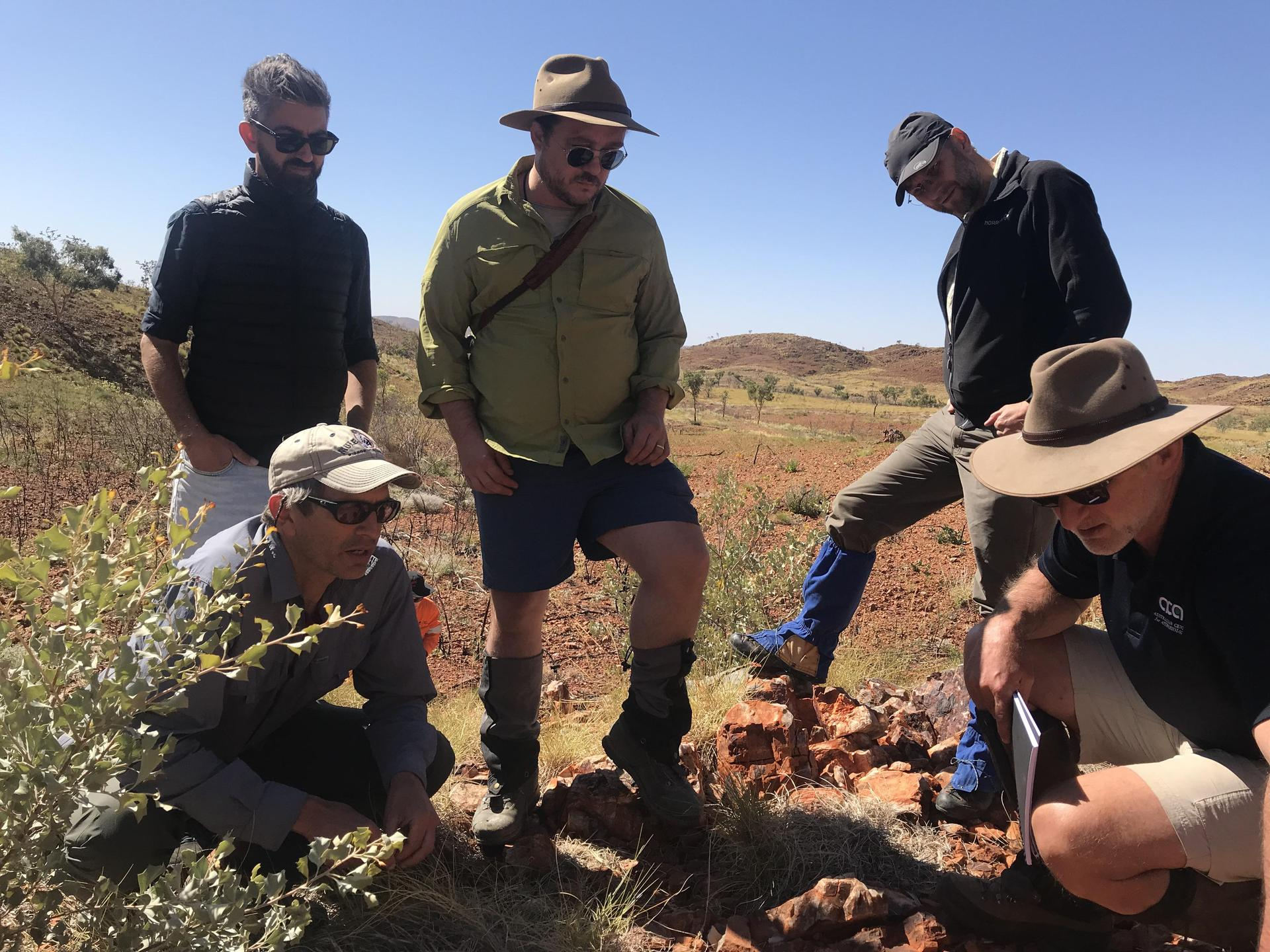 Clues for Mars in the Australian Outback