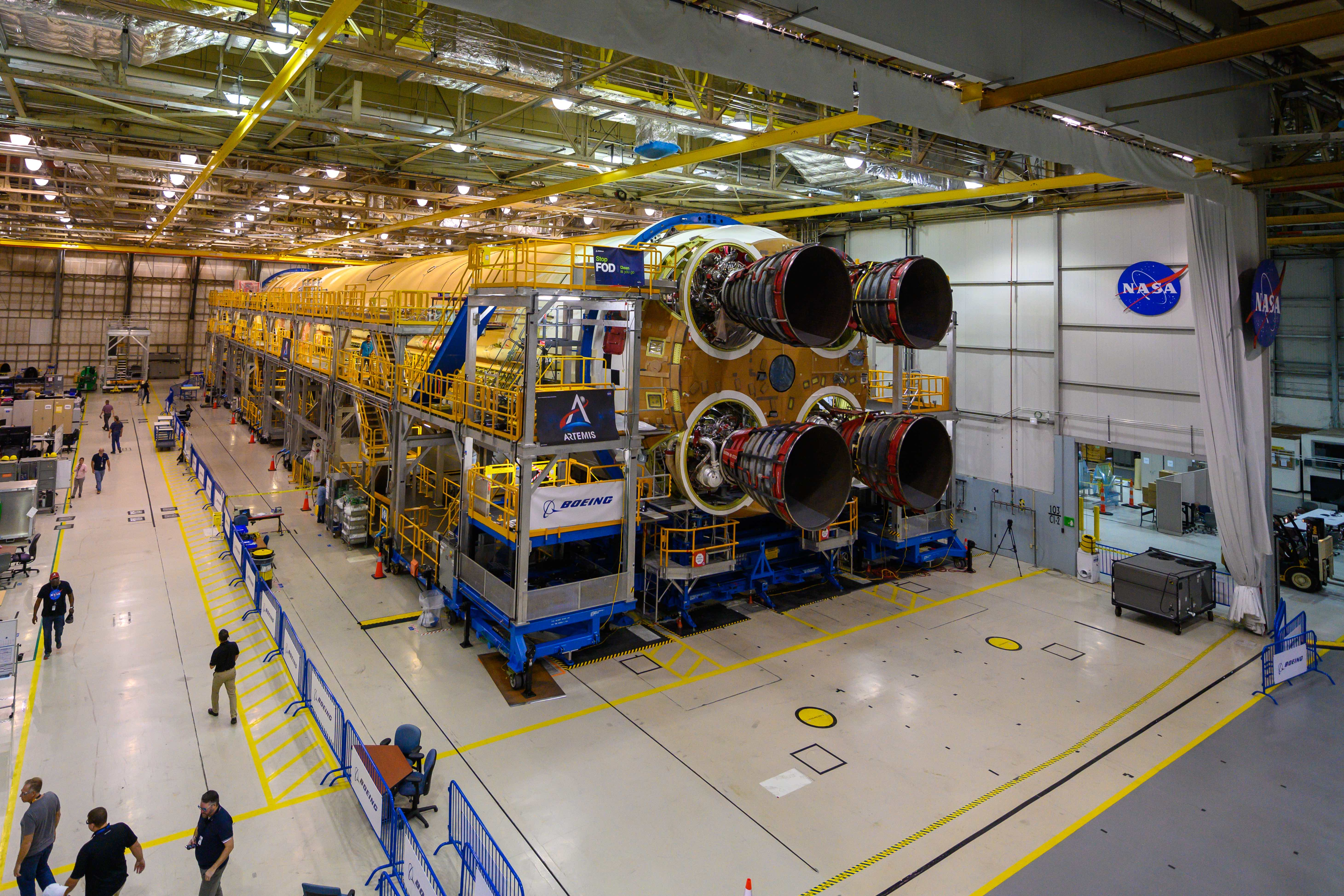 Media Invited to Artemis Day, Unveiling of Moon Mission Rocket Stage