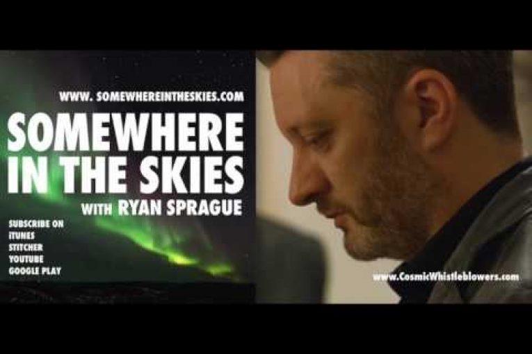 Somewhere in the Skies - Episode 12: Simon Sharman: Cosmic Whistleblowers