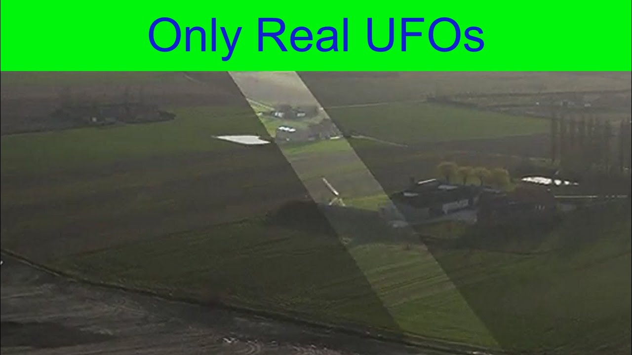 The fast moving UFO was filmed during a drone flight in Dikkebus, Belgium.