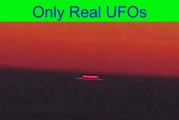 UFO   Incredible flying saucer was filmed from the aircraft 12/23/2019.
