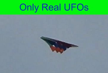 Incredible UFO over Colombia.