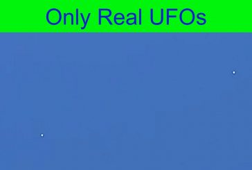 UFOs were spotted during the daytime over Burbank, California.