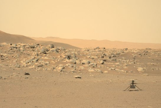 The Little (Mars) Helicopter That Could