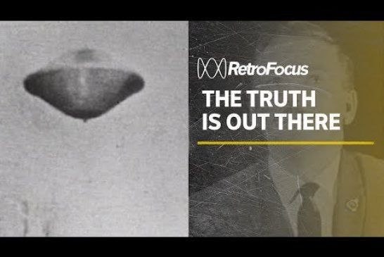 1967 interview about UFOs on Australian television
