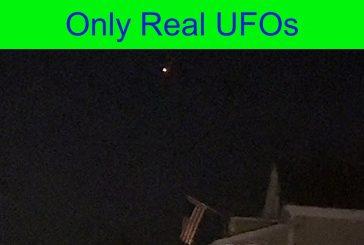 UFO over Westport, Massachusetts. 10/14/2021