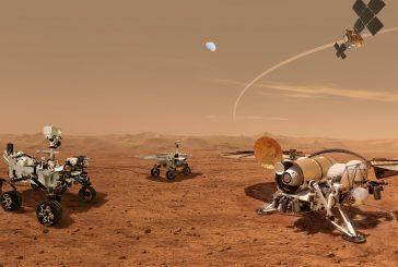 Mars Sample Return Artist's Concept